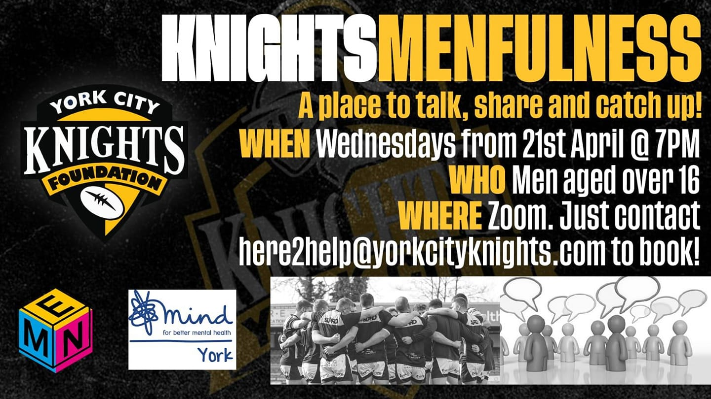 Knights Menfulness Promo image